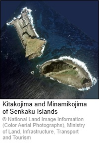Kitakojima and Minamikojima of Senkaku Islands