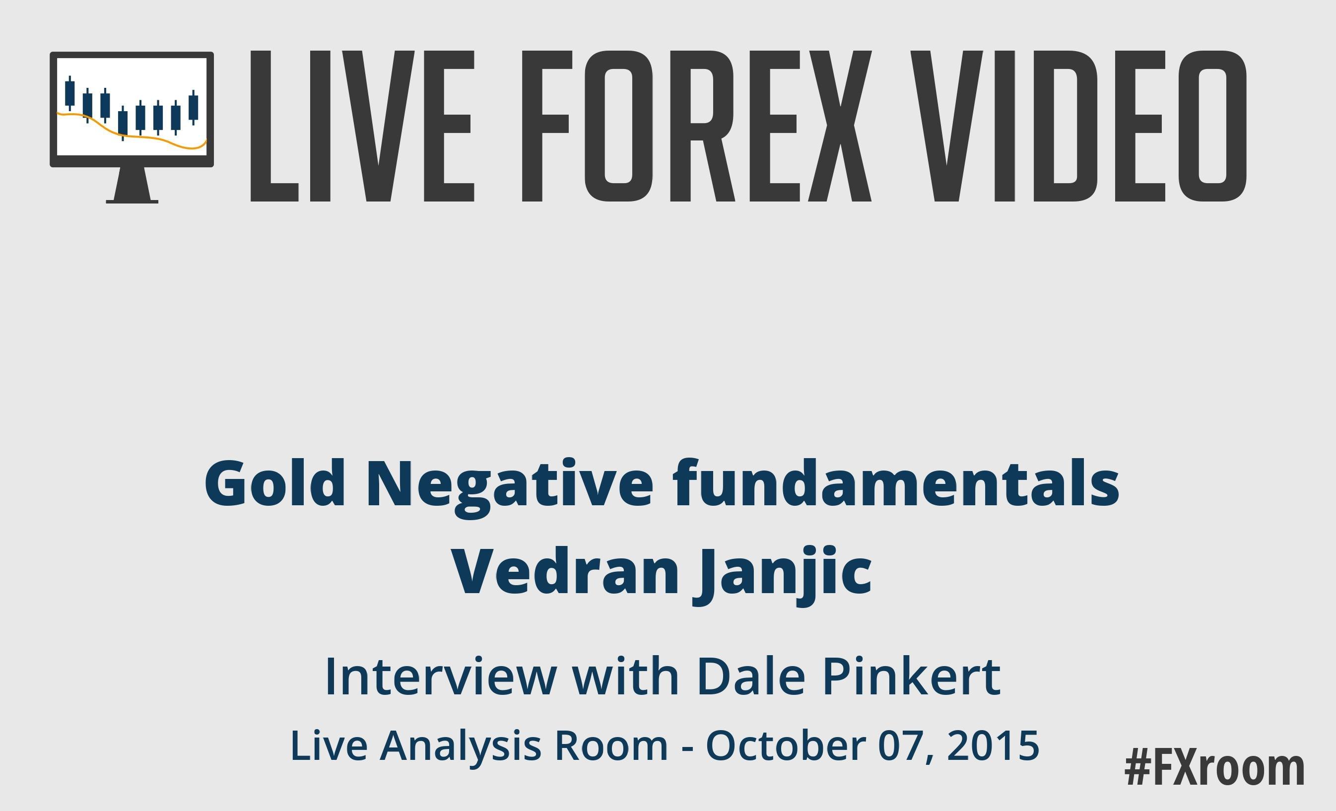 Vedran Janjic: Gold negative fundamentals on Russia and China