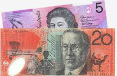 australian new dollars