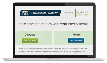 Save money with our international payments
